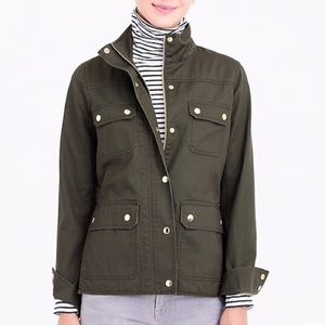 J Crew Army Green Jacket
